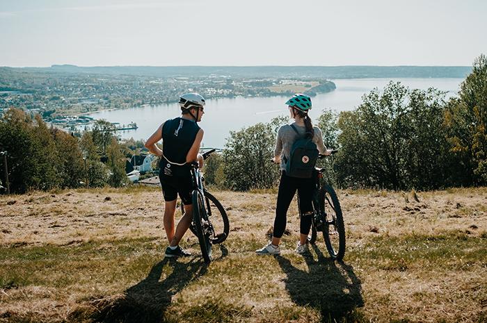 cyklister på ikhp i Huskvarna