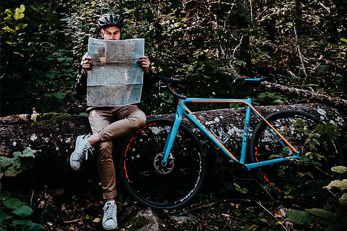 Cyklist i Småland