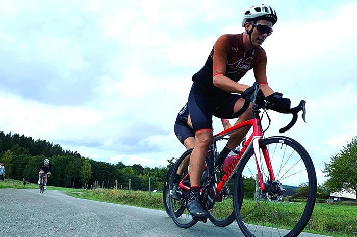 cyklist Småland
