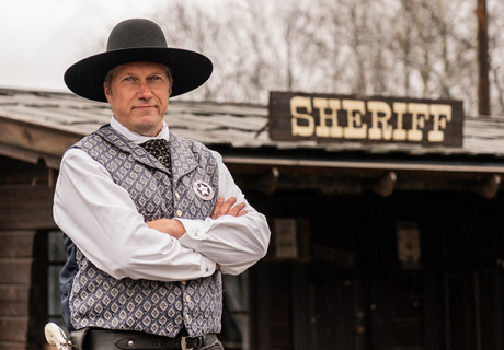 Sheriff high chaparral