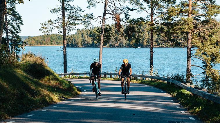 Cyklister i Bunn, Småland.