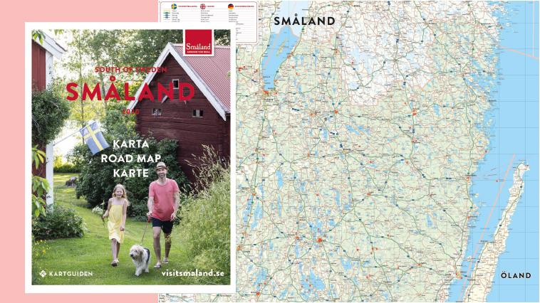 Småland karta
