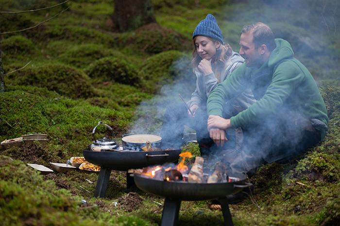 matlagning i naturen