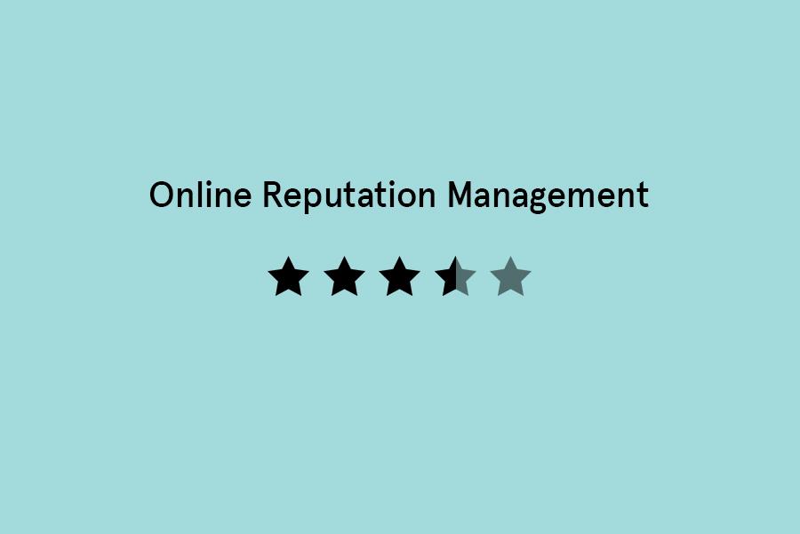 Oneline Reputation Management
